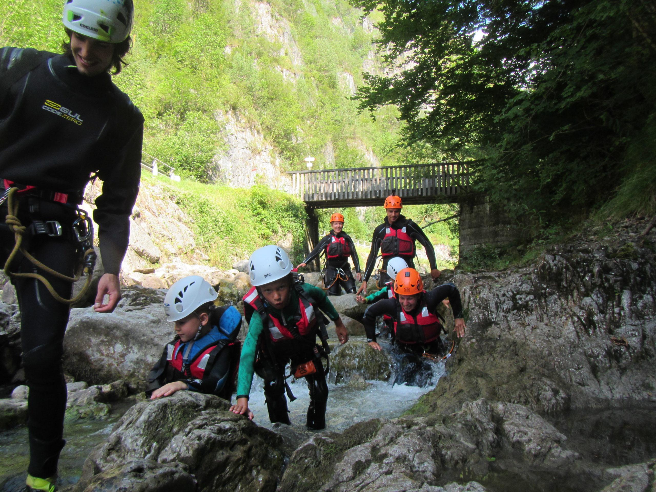 Jungle Canyoning Trentino Percorso facile