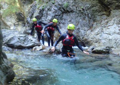 Canyoning Trentino Dolomites Garda Vacation Adventure Fun