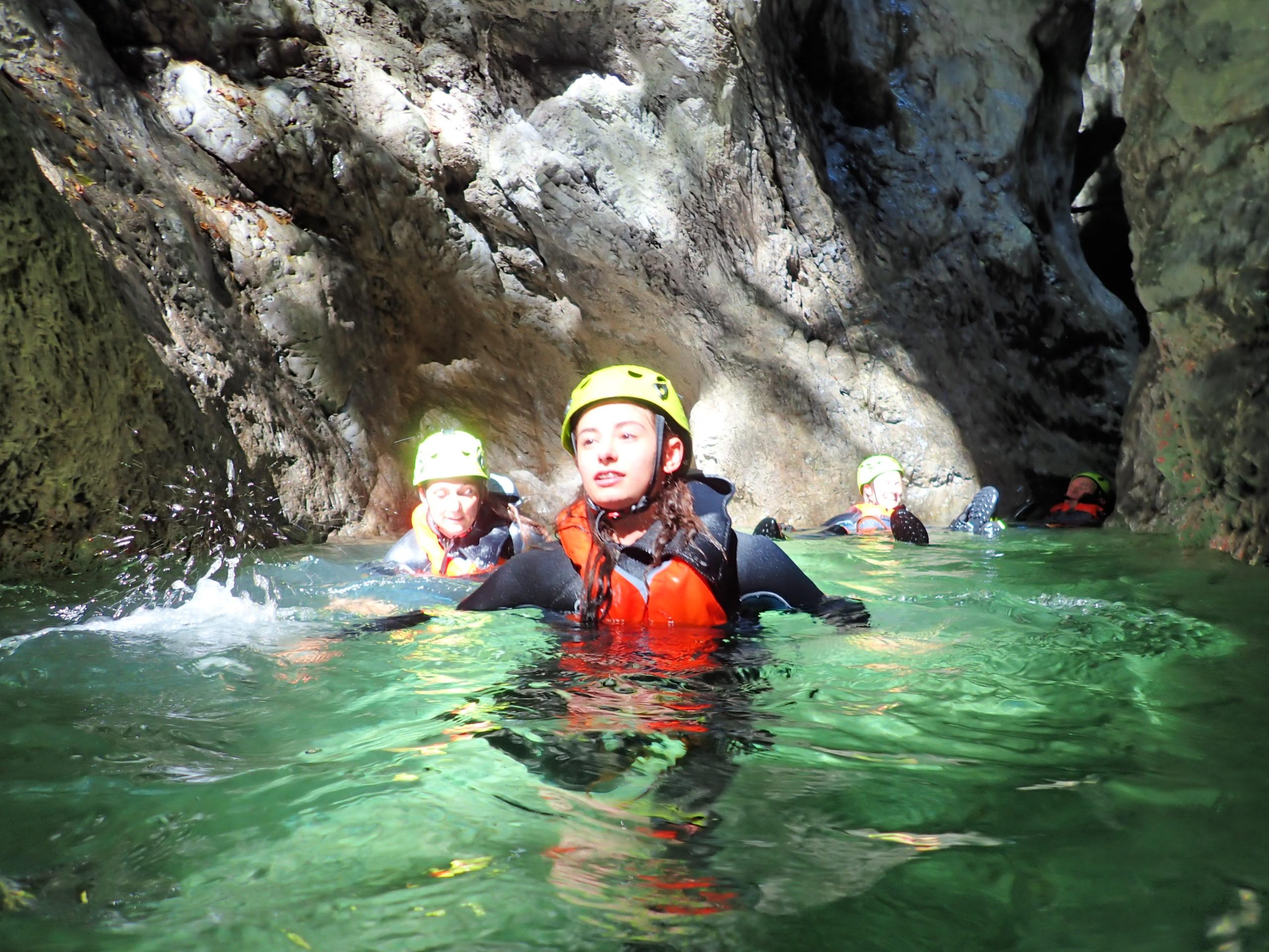 Torrente Palvico Percorso Canyoning Trentino facile