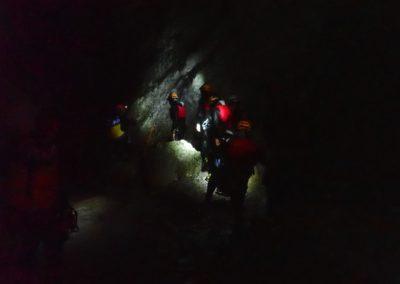 Trentino Canyoning in Notturna