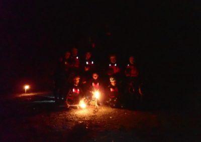 Canyoning Palvico by night